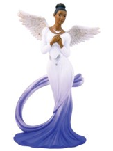 Graceful Angel with Blue Sash