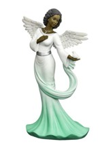 Graceful Angel with Green Sash