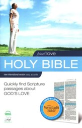Find Love: NIV VerseLight Bible: Quickly Find Scripture Passages about God's Love - eBook
