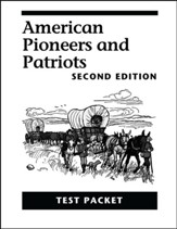 American Pioneers and Patriots Test Packet, 2nd Edition, Grade 3
