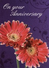 Fabulous Flowers - Anniversary Cards/Box of 12