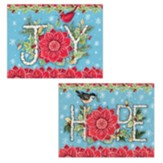 Holiday Joy Assorted Christmas Cards, Box of 18