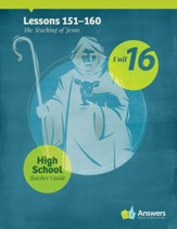 Answers Bible Curriculum High School Unit 16 Teacher Guide (2nd Edition)
