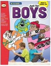 Just for Boys Grades 1-3 Reading Comprehension Aligned to Common Core