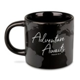 Adventure Awaits Mug, Black