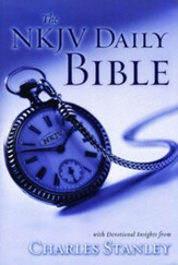 The NKJV Daily Bible: Devotional Insights from Charles F. Stanley - eBook
