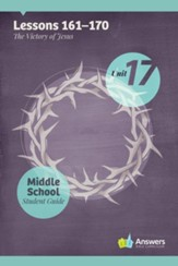 Answers Bible Curriculum Middle School Unit 17 Student Guide (2nd Edition)