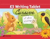 K5 Writing Tablet (Unbound Cursive  Edition)