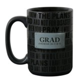 Grad, For I Know the Plans Mug
