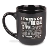 Press On Mug, Philippians 3:14