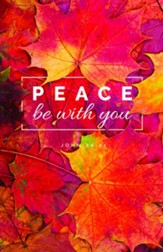 Peace Be With You (John 20:21) Bulletins, 100