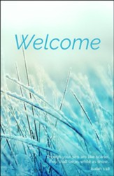 Welcome Winter (Isaiah 1:18) Bulletins, 100