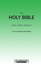 KJV Easy Navigate eBook - eBook