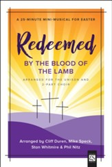 Redeemed by the Blood of the Lamb, Choral Book