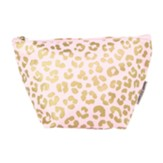 Mini Carryall, Leopard Print, Blush