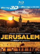 National Geographic Presents: Jerusalem, 3D Blu-ray