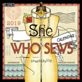 2019 She Who Sews Mini Wall Calendar
