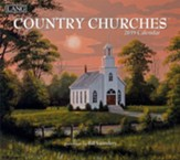 2019 Country Churches, 12-Month Wall Calendar