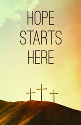 Hope Starts Here Calvary Bulletins, 100