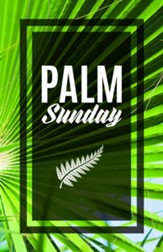 Palm Sunday Bulletins, 100