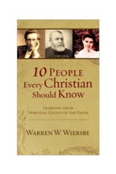 10 People Every Christian Should Know E-book - eBook