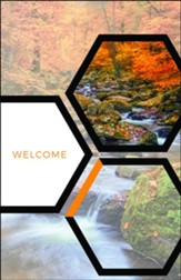 Welcome Hexagon Fall Bulletins, 100