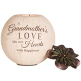 A Grandmother's Love Fills Our Hearts with Happiness Tealight Candle Holder