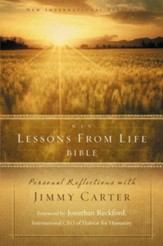 NIV Lessons from Life Bible: Personal Reflections with Jimmy Carter / Special edition - eBook