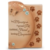 In Memory of A Great Pet Tabletop Plaque
