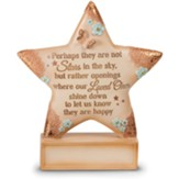 Perhaps They Are Not Stars in the Sky Tabletop Plaque