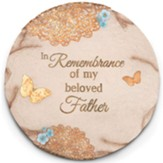 In Remembrance of My Beloved Father Garden Stone