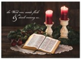 His Word Christmas Cards, Box of 12