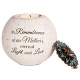 In Remembrance of My Mother's Eternal Light and Love Tealight Candle Holder