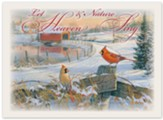 Christmas Cardinals Christmas Cards, Box of 12