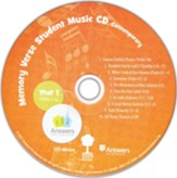 Memory Verse Student Music CD (Year 1; Units 1-5;  Contemporary)
