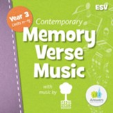 Memory Verse Student Music CD (Year 3; Units 11-15; Contemporary)