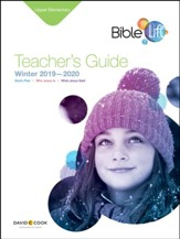 Bible-in-Life: Upper Elementary Teacher's Guide, Winter 2019-20