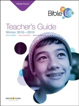 Bible-in-Life: Middle School Teacher's Guide, Winter 2018-19