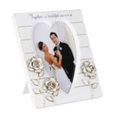 Together is a Beautiful Place to Be Wedding Photo Frame