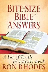 Bite-Size Bible Answers: A Lot of Truth in a Little Book - eBook