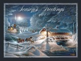 Evening Frost Christmas Cards, Box of 12