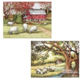 The Lord Is My Shepherd, Note Card Assortment, Box of 12