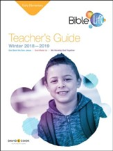 Bible-in-Life: Early Elementary Teacher's Guide, Winter 2018-19