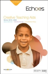 Echoes: Early Elementary Creative Teaching Aids, Winter 2019-20