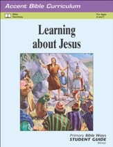 Accent: Primary Grades 1 & 2 Bible Ways Student Guide, Winter 2019
