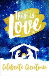 This Is Love Christmas Bulletins, 100