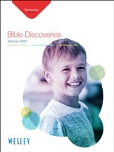 Wesley: Elementary Bible Discoveries Student Book, Spring 2020