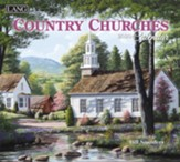 2020 Country Churches Wall Calendar