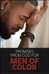 Promises from God for Men of Color: Hardcover, Large Print
