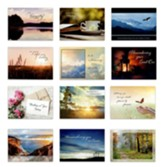 Year of Comfort Sympathy Cards, Box of 12